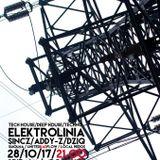 Addy-Z live @ ELEKTROlinia (Spirala, Gliwice 28-10-2017) Closing Set