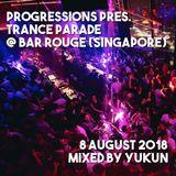 Progressions pres. Trance Parade @ Bar Rogue (Singapore) | Mixed by Yukun