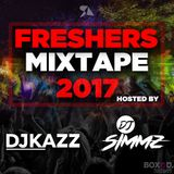 FRESHERS MIX 2017 - #BOXEDTUESDAYS DJSIMMZ// DJKAZZ - URBAN MIX