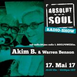 Absolut Soul Show /// 17.05.17 on SOULPOWERfm