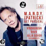 M.A.N.D.Y. - Live @ Vanilla Ninja Club - Moscow (01-02-2013)