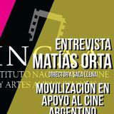 EN LA CRESTA - Nota a Matias Orta por la situación del INCAA (28-9)