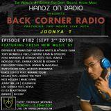 BACK CORNER RADIO: Episode #182 (Sept 3rd 2015)