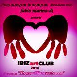 IBIZartCLUB October 1, 2018 mixed by Fabio Marino-dj feat. Kirsteen Bes