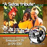 """""""A Sistas Tribute"""" by Sista AurEl [21 avril 2013]-VOTP Archives-Emission#24/Radio Capsule.com"""