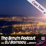 BRNY - The Brny'n Podcast #36 - Cape Town - TBP#36 - Live at Jungle Club