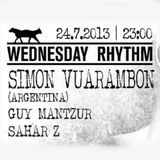 Simon Vuarambon Live @ The Cat & Dog (Tel Aviv, Israel) - 24.07.2013