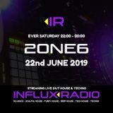 2one6 - LIVE on INFLUX RADIO (2019-06-22)