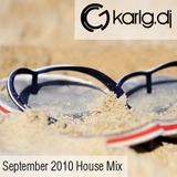 September 2010 House mix