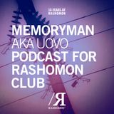 Memoryman aka Uovo Podcast for Rashomon Club