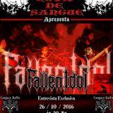 Programa Cova de Sangue - Cangaço Rádio Rock - #22 - Entrevista com a Banda Fallen Idol (26.10.2016)