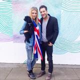 Ashley Louise James with Matt Cardle