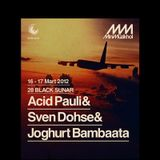 Acid Pauli and Sven Dohse live at Mini Muzikhol Istanbul 17th March 2012