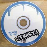 DJ Twista - Old Skool Rave '90 - '92 + Breaks Demo CD - 2004 - 100% VINYL