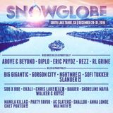 SnowGlobe 2018 Headliners Mix