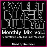 Mothly Mix - Sweet Black Dubday -