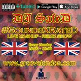 DJ SafeD - #SoundsXrateD Show - Groove London Radio - Monday - 14-01-19 (4-6pm GMT)