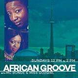 The African Groove Show - Sunday January 3 2016