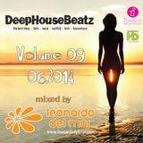 DeepHouseBeatz Volume 09 ( 06.2014 ) by Leonardo del Mar