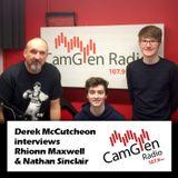 Derek McCutcheon interview with Rhionn Maxwell and Nathan Sinclair, 21 Mar 2017