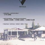 Joerg Coon Deep Techno Mix @ Trianglé Beach Mühlbeck Goitzsche 05-06.2016