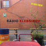 RADIO KLEBNIKOV Uitzending 21/09/2019