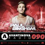 090 - PAUL BINGHAM - AVANTINOVA RADIO – 12 Sep