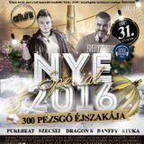 Stuka Live @ Club Allure Gyömrő 2015.12.31 NYE 2016 300 Pezsgő Éjszakája