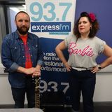 Russell Hill's Country Music Show on Express FM feat. Afterwise. 12/03/2017