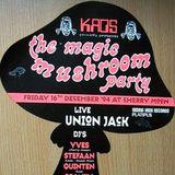 "Union Jack LIVE & Yves De Ruyter at ""KAOS Magic Mushroom"" @ Cherry Moon (Lokeren) - 16 December 1994"