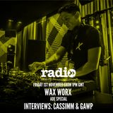 ADE Round Up Hosted By Wax Worx Interviews With Cassimm & Gawp