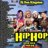 Dj Don Kingston Hip Hop Mix Vol.35 2018