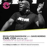 Carl Cox  - Music is Revolution Radio Show on Ibiza Global Radio - 08-Jul-2014