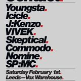 Youngsta - Rinse FM 27/01/2014 Contact Special ft.Icicle, Skeptical, SP:MC, Proxima, VIVEK, J:Kenzo