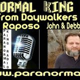 Paranormal King Radio with Authors  Debbie & John Holliday from Daywalkers Paranormal Investigations