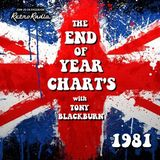 End of Year Chart - 1981 - Tony Blackburn - 3-1-1982