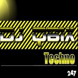 DJ QBIX LIVE@247HOUSE.FM DJK#295 PT.2 TECHNO 1-27-2017.
