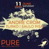Andre Crom - Live @ 100% Pure La Terrrazza (Barcelona, ES) - 11.06.2016.
