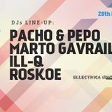 Marto Gavraili - LIVE MIX Pacho,Pepo & Friends @ Club PLAZMA