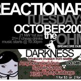 XISIX - live set from REACTIONARY TUESDAY - PDX - 10-14-2008