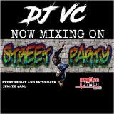 DJ VC - STREET PARTY - RHYTHM 105.9 FM KYRC 7/29/17