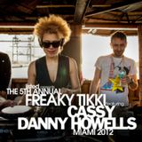 Danny Howells & Cassy - Live @ Listed's Freaky Tikki WMC 2012