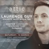 Brendan Clay - Live at Attic presents Laurence Guy (10th March, 2018)
