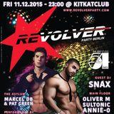 "Annie O's ""Studio 54: Back2Disco"" DJ Set at Revolver Party Berlin"
