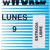 Oscar Mulero @ New World, Plaza de los Cubos, Navidades, Madrid (1992)