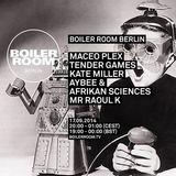 Maceo Plex - live at Boiler Room, Berlin - 17-Sep-2014