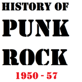 history of punk rock 1950-57
