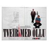 Tveir með öllu 15. ágúst 1991 á FM957