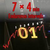 7x4 Endurance intervals