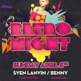 dj Sven Lanvin @ La Gomera - Easter Retro Night  08-04-2012
